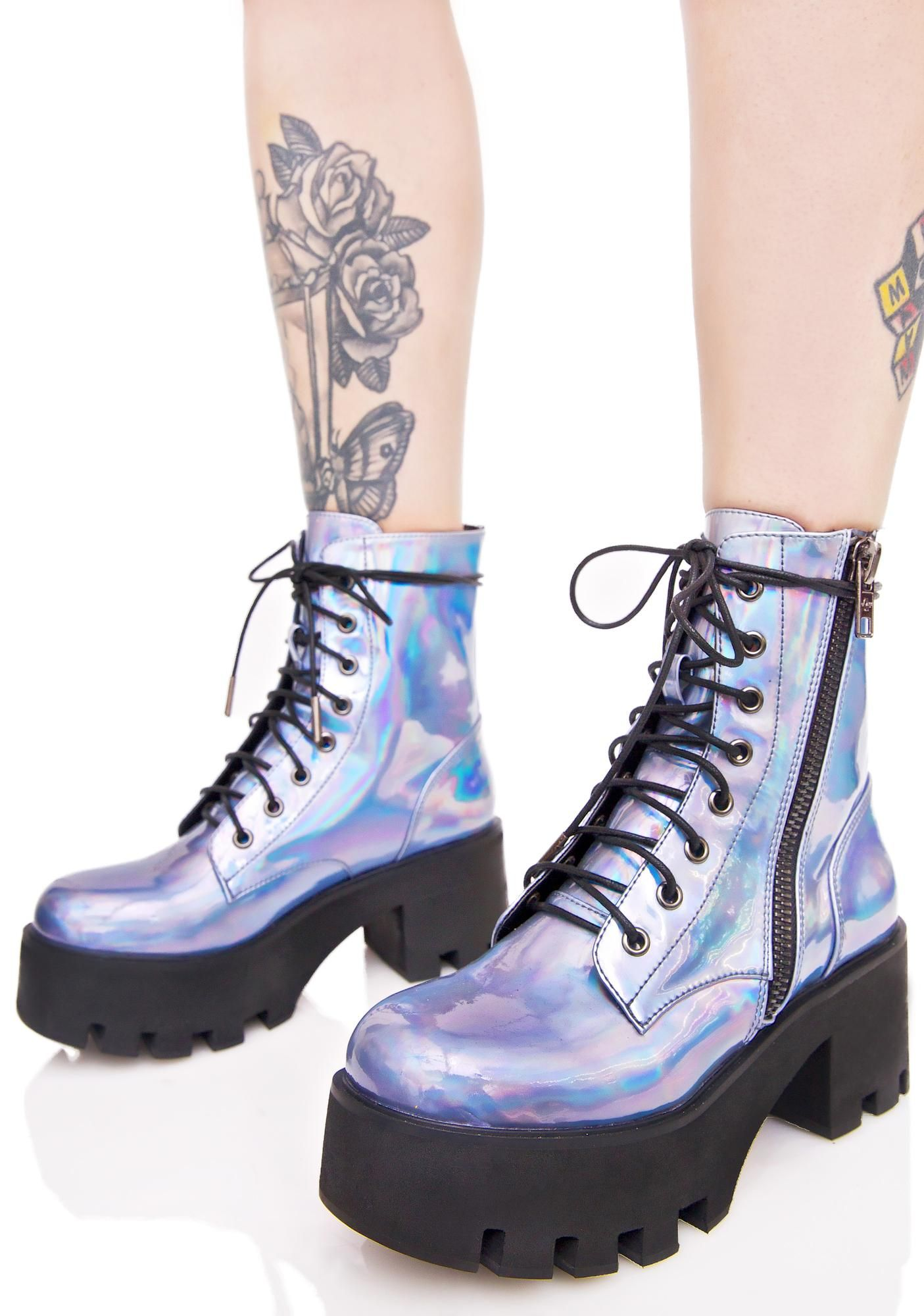 8df3e887cf0 Current Mood Opalescent Odyssey Boots will take you on an outer ...