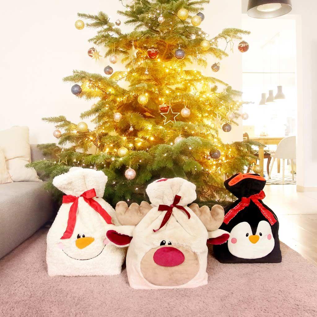 geschenkverpackung nähen für weihnachten mit freebook