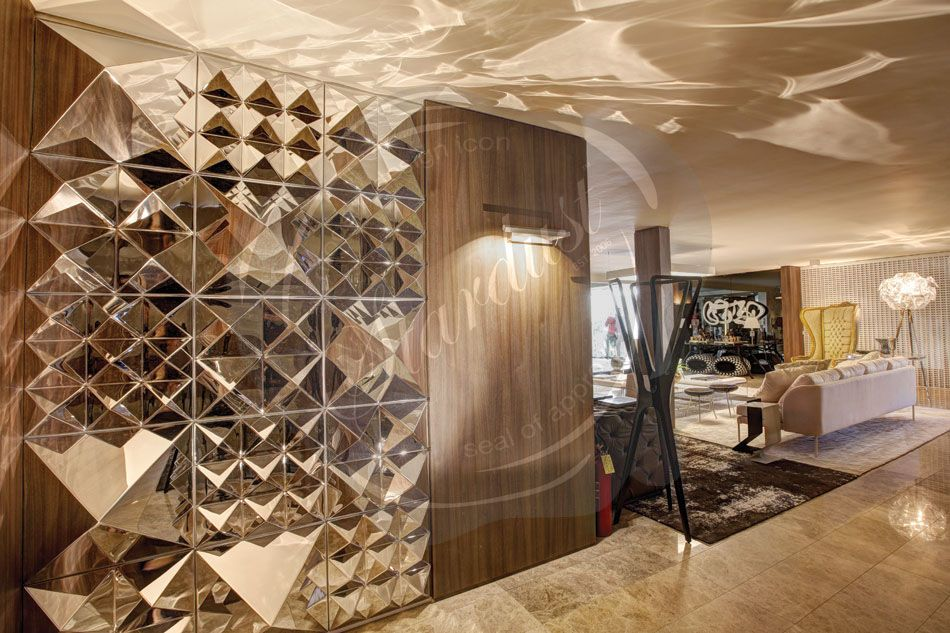 Wall Art Extraordinary Idea Wall Mirror Panels With Modern