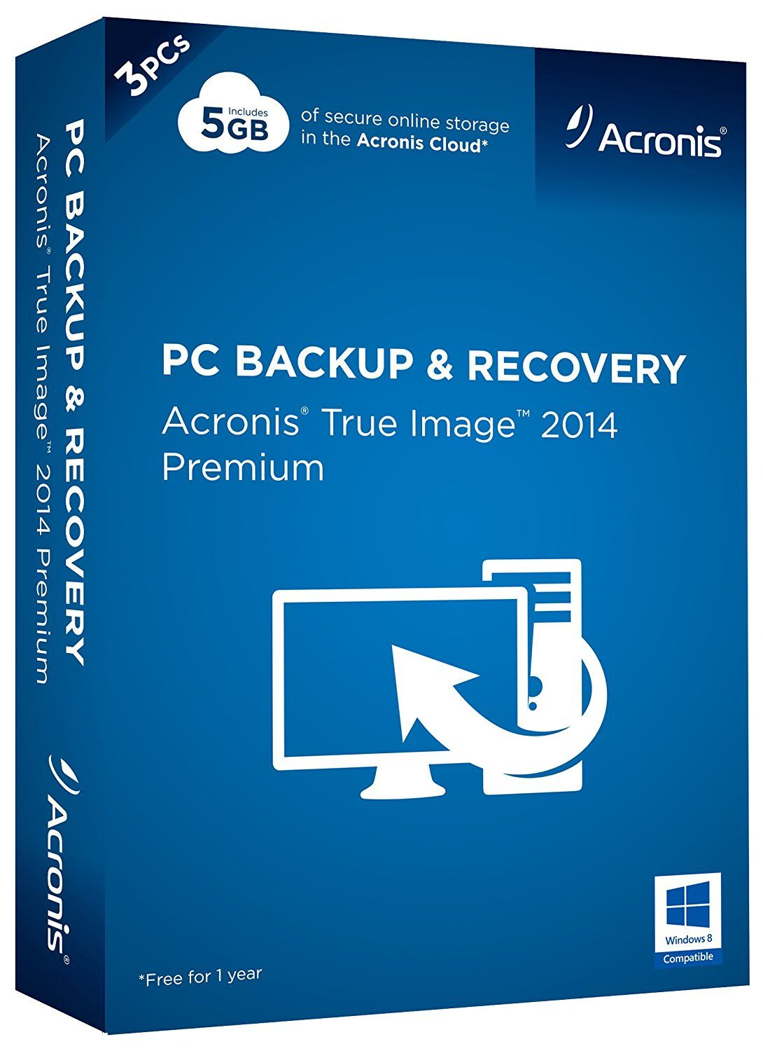 Acronis True Image 2014 Premium 3 License All Products Acronis