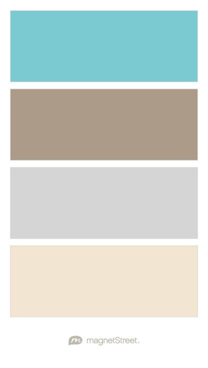 Turquoise, Ashwood, Silver, and Champagne Wedding Color Palette ...