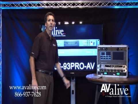 Blackmagic Design Atem Tv Studio Hd Switcher Swatemtvstu Overview Part 1 Avalive Com Blackmagic Design Tv Design