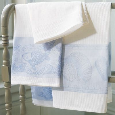 Jacquard Francais Towels - Cologne  Cotton Sherree\u0027s beach house