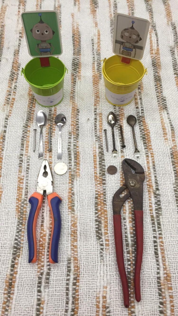 التقييم عباره عن تصنيف للأدوات المصدأه والأدوات الغير مصدأه Classroom Wire Cutter