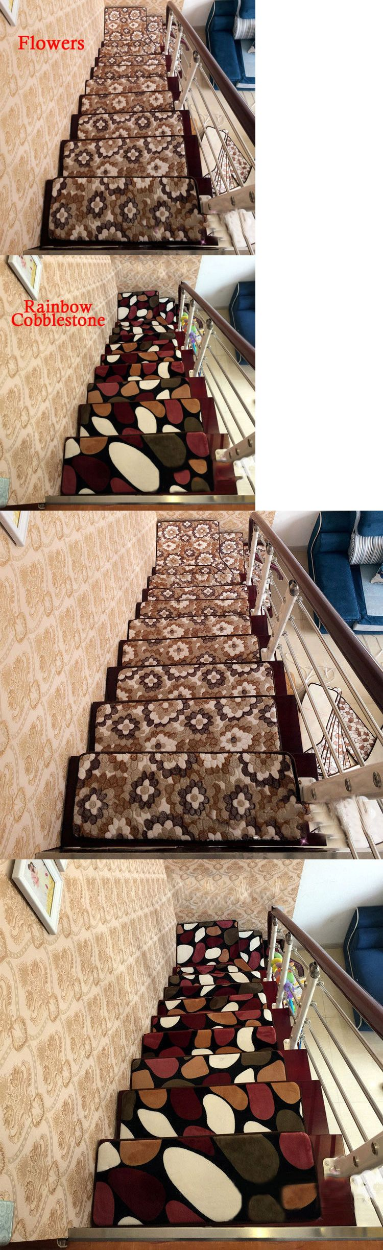 Stair Treads Pcs Home Staircase Floor Carpet Stair Pad Non