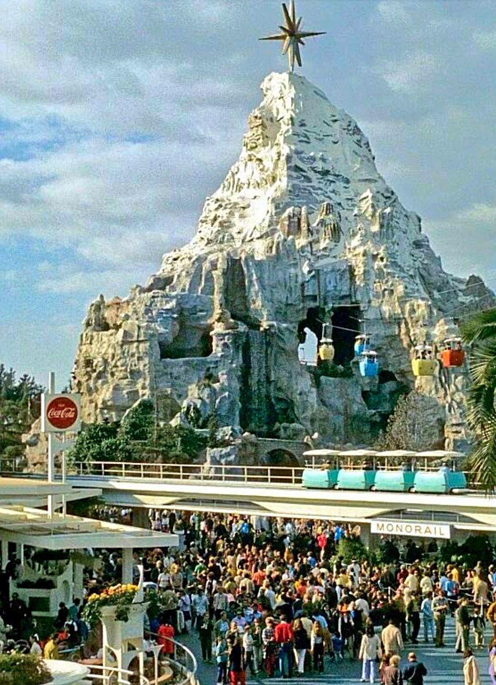 Matterhorn Disneyland Christmas