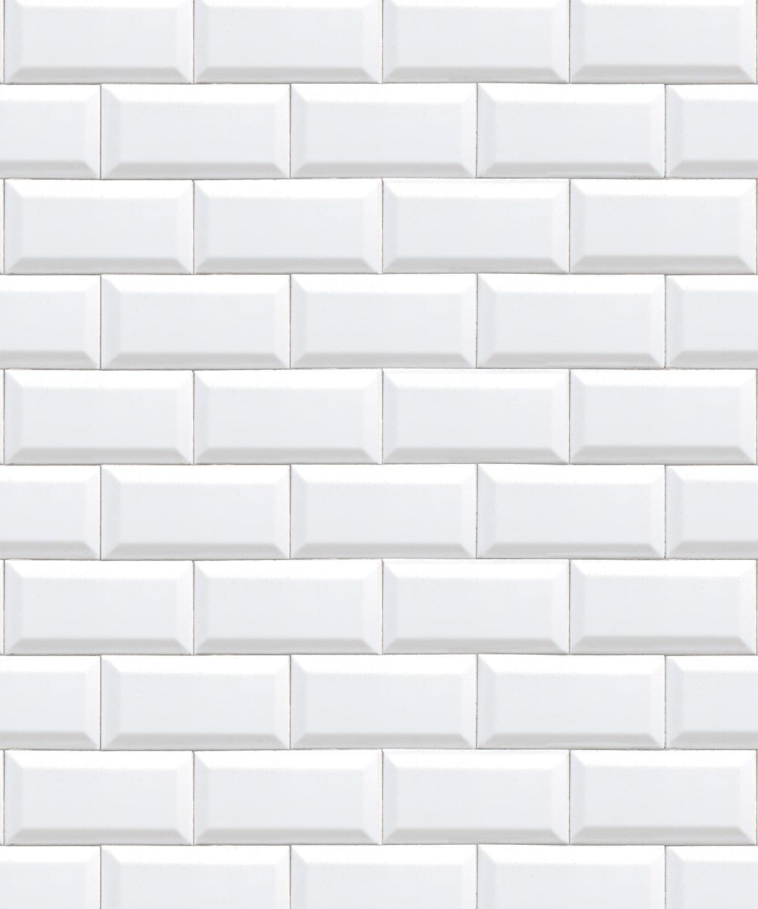 White Subway Tiles Wallpaper Minimal Wallpaper Milton King In 2021 White Subway Tiles Tile Wallpaper Bathroom Wallpaper Trends