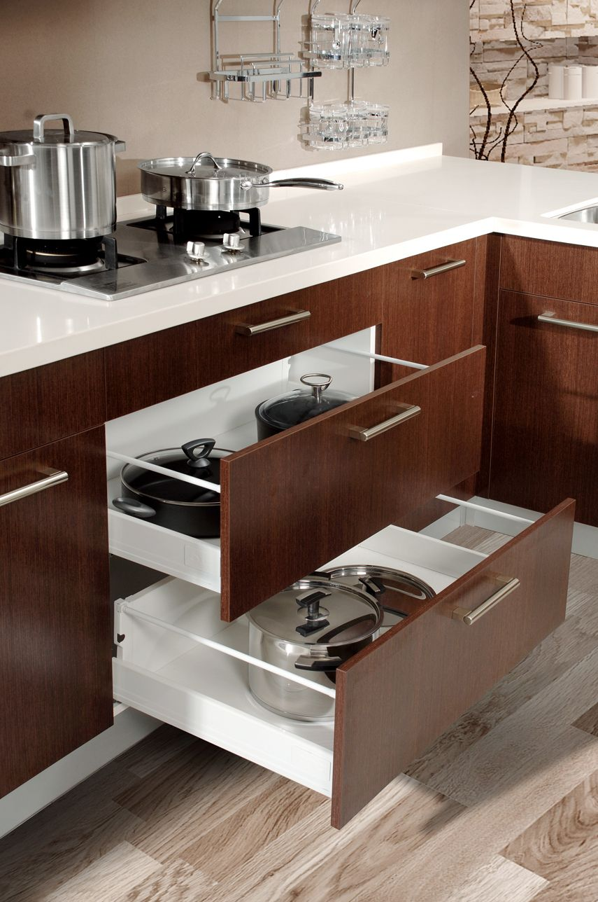 Pantry Blum Soft Closing Drawers Shaped Shelving For Easy Access To Top Section Draw Kitchen Pantry Design Kitchen Cabinet Storage Kitchen Furniture Storage