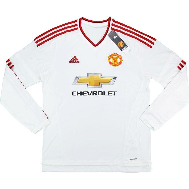 a210991bafb 2015-16 Manchester United Away L S Shirt Schweinsteiger  31  w Tags ...