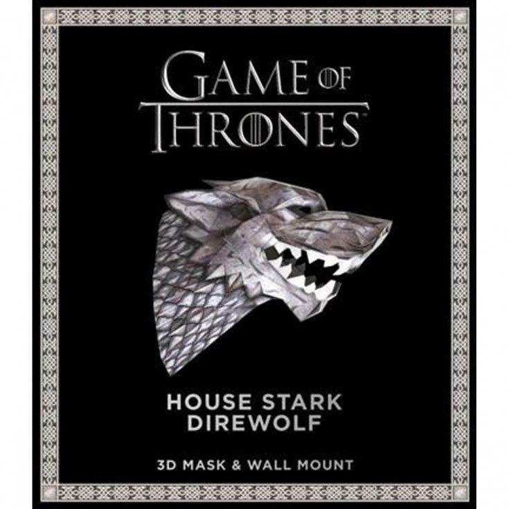 Hbo shop house stark stark direwolf game of thrones mask