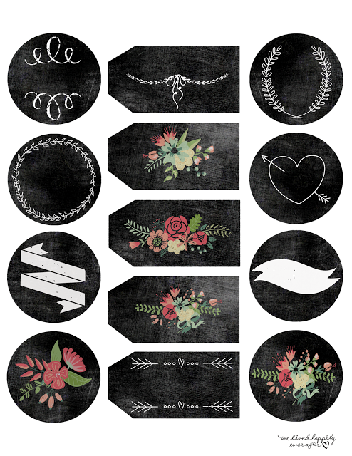 graphic about Printable Chalkboard Labels identify Totally free Chalkboard Label Printables Printable Labels and Tags