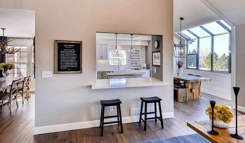 41 Kitchen Pass Through Ideas, Dining Room To Kitchen Pass Through