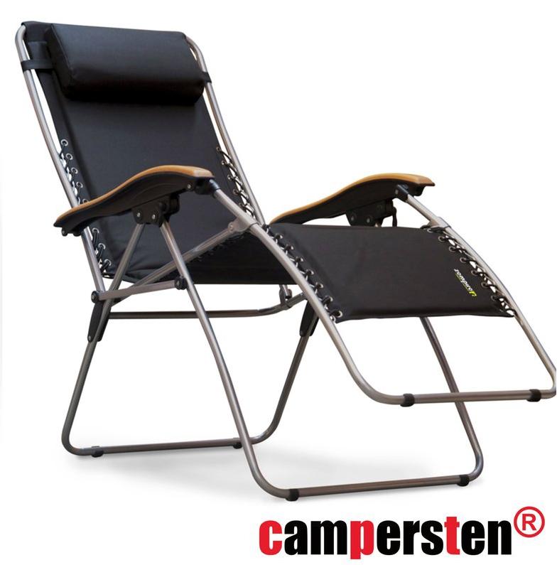 Campingstuhl Liegestuhl.Den Campersten 2in1 Xxl Komfort Campingstuhl Liegestuhl