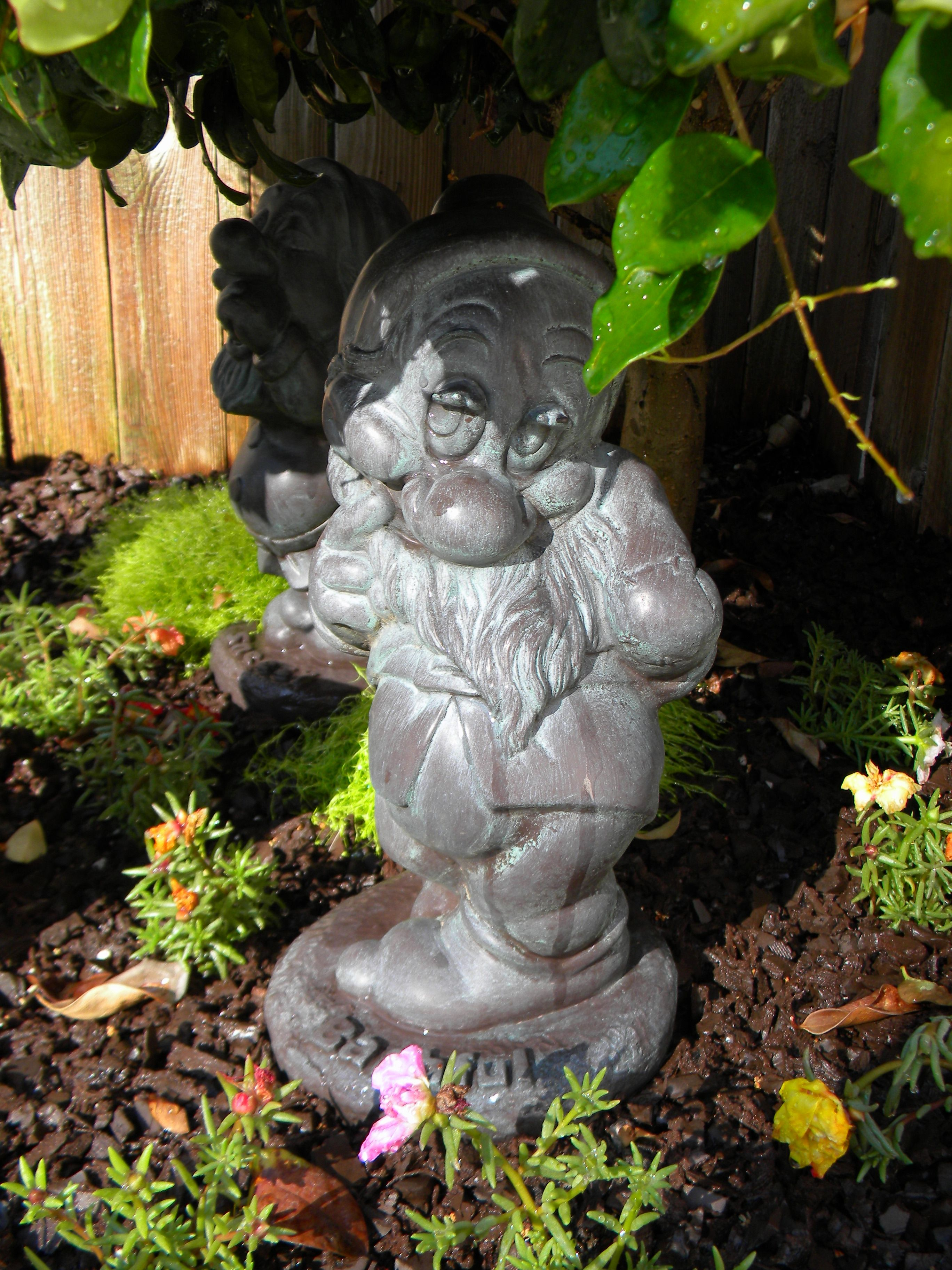 Retired Disney Garden Statue, One Of 7 Pieces. Garden GnomesGarden StatuesDisney  ...