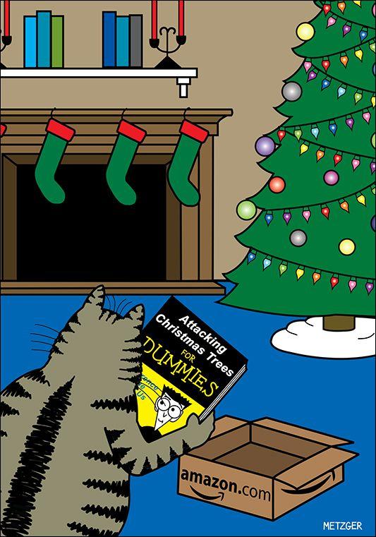 Metzgercartoons Com Christmas Humor Holiday Cartoon Christmas Jokes