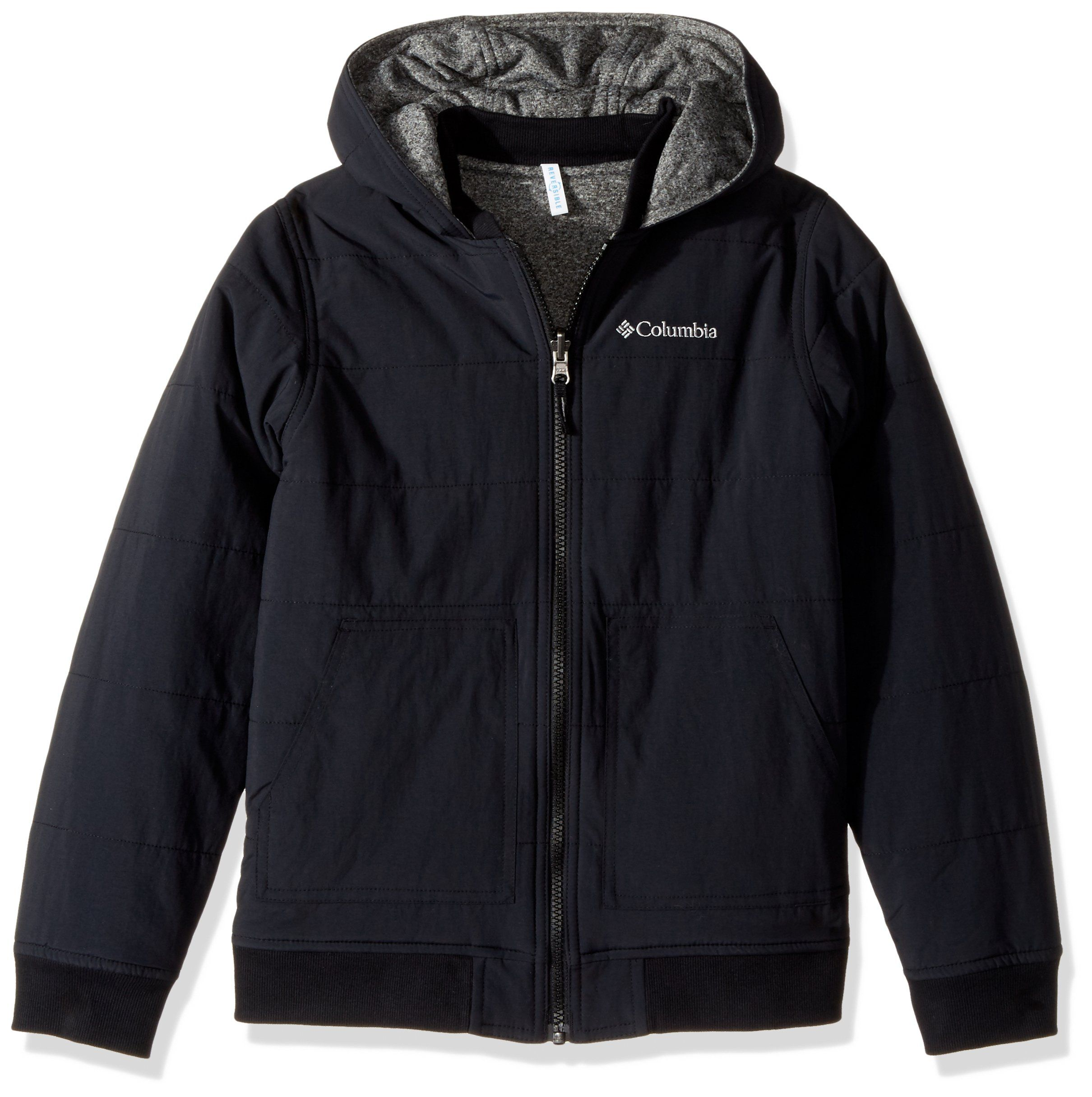 Columbia Big Boys Evergreen Ridge Reversible Jacket Black