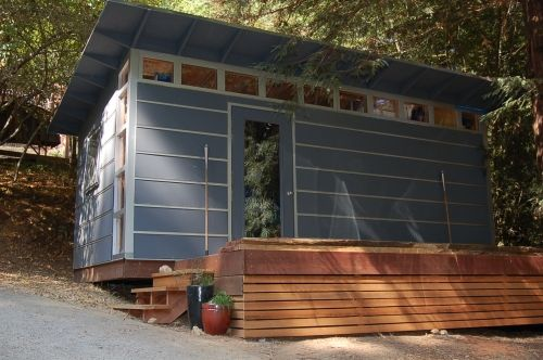 Studio Shed Storage Shed With Beautiful Deck 10x20