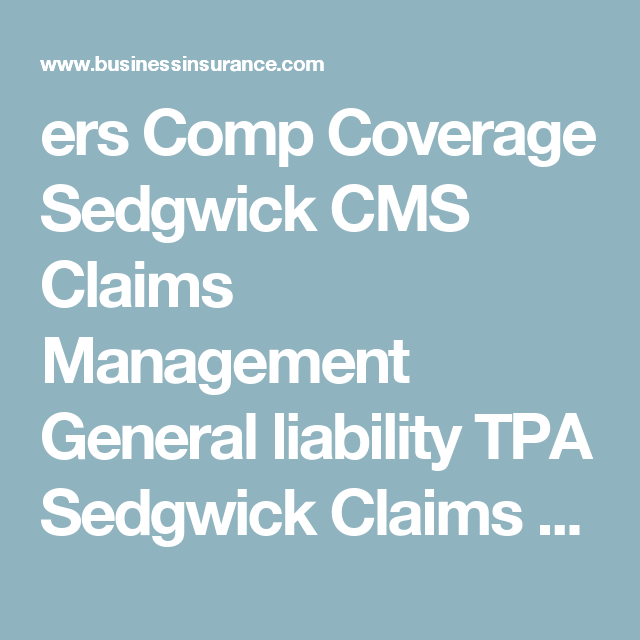 Sedgwick Pays 1 13 Million To Settle California Comp Violations