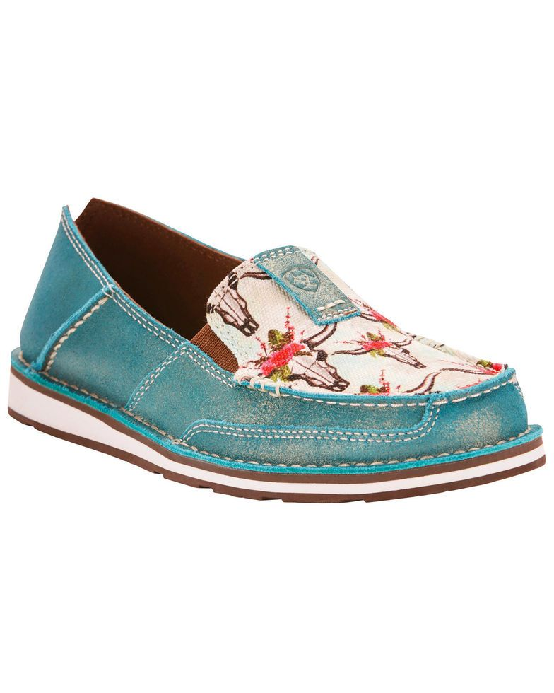 6d0ebae5a21 Ariat Women s Turquoise Cruiser Shoes in 2019