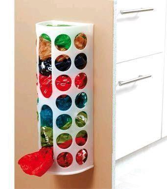 Ideas para guardar bolsas de pl stico bolsas de pl stico - Botes plastico ikea ...