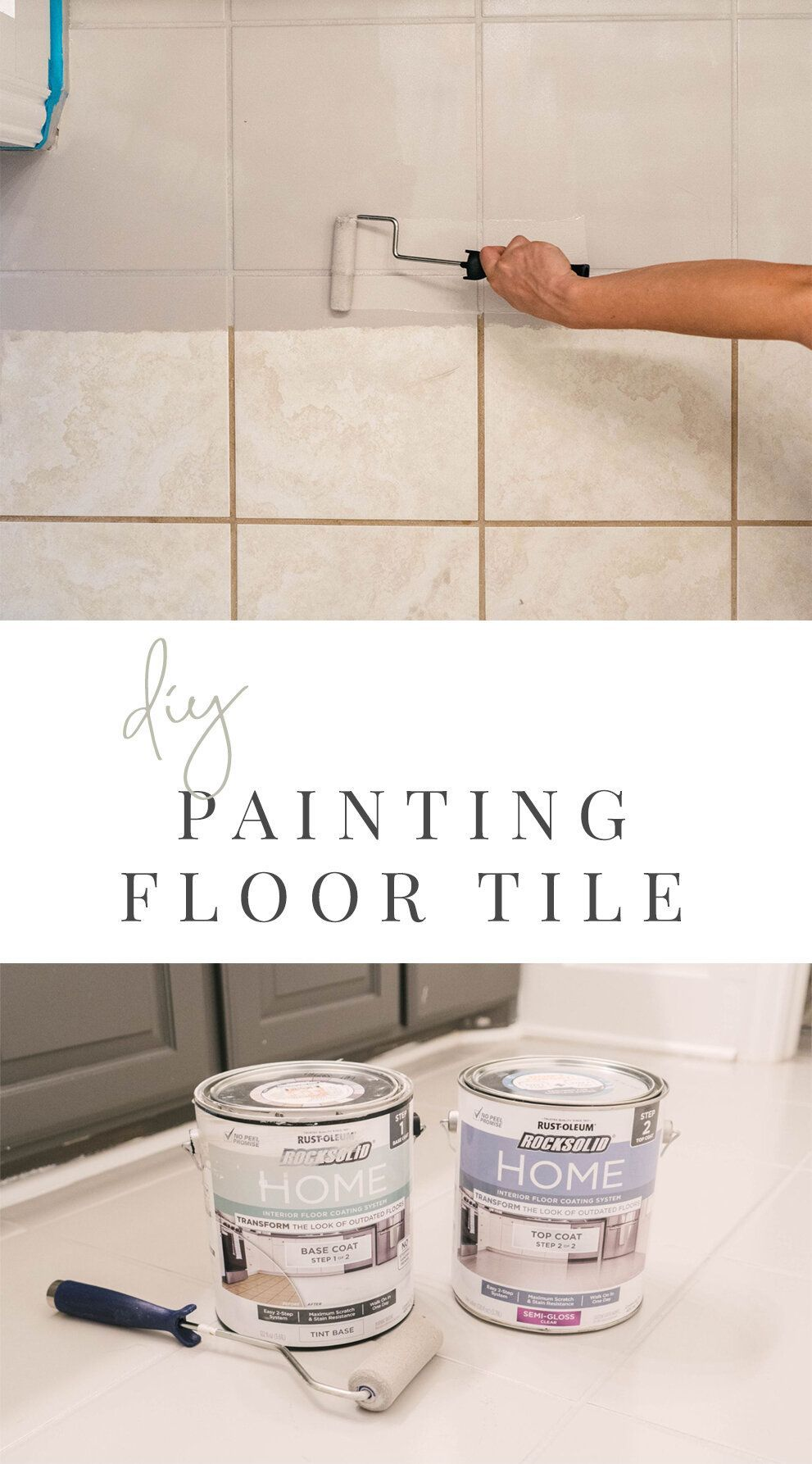Photo of DIY: How one can Paint Ceramic Ground Tile — Farmhouse Residing – World Best #Diy Blogs