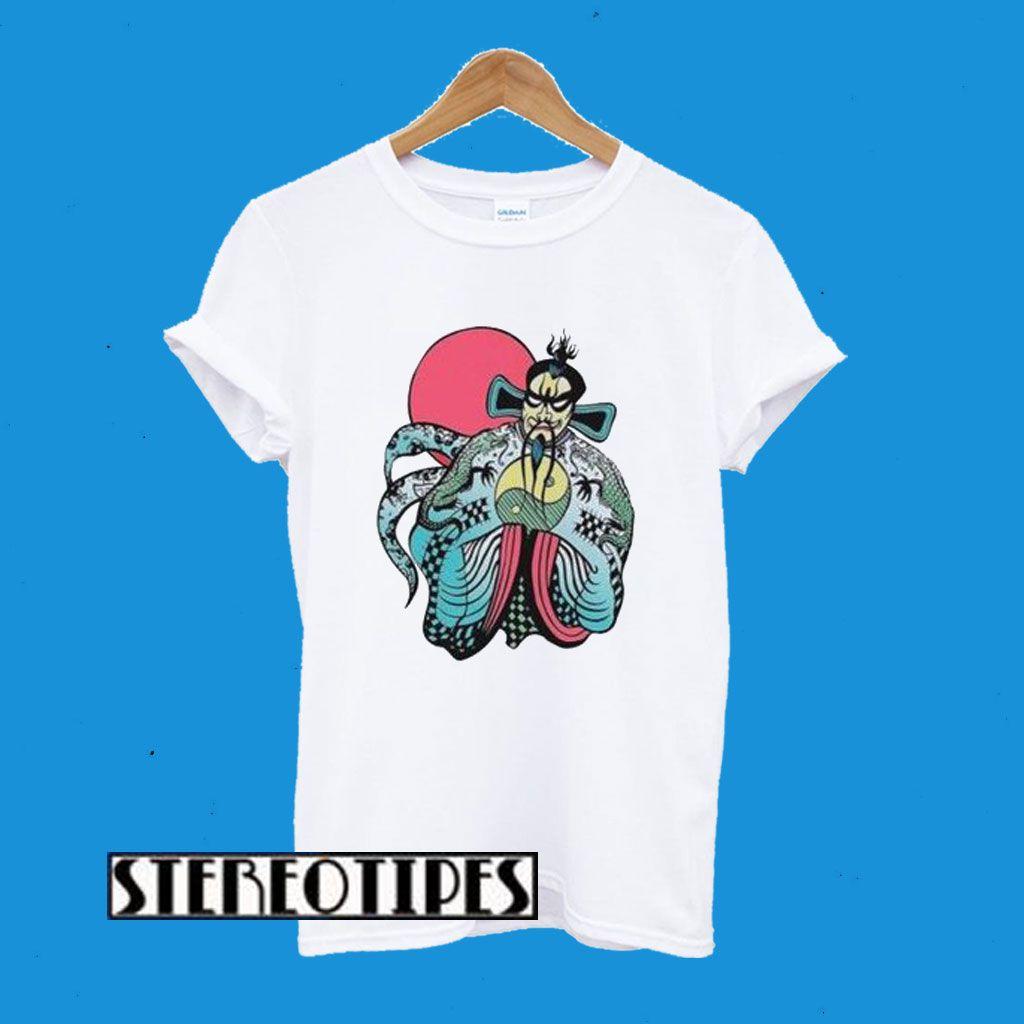 Big Trouble In Little China Fu Manchu Kurt Russell Retro T Shirt Retro Tshirt Shirts Cool Shirts