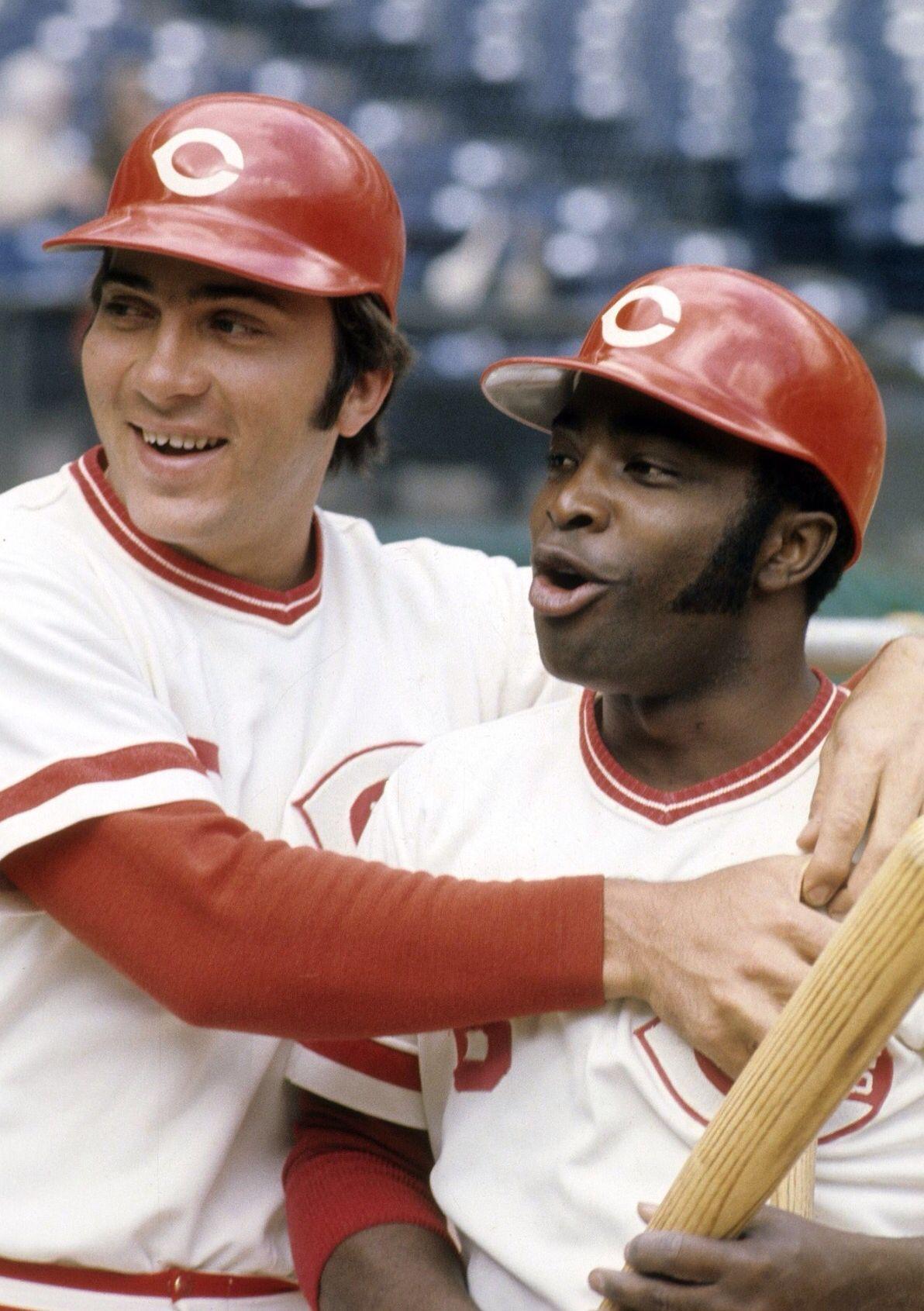 Johnny Bench And Joe Morgan Baseball Greats Baseball Reds