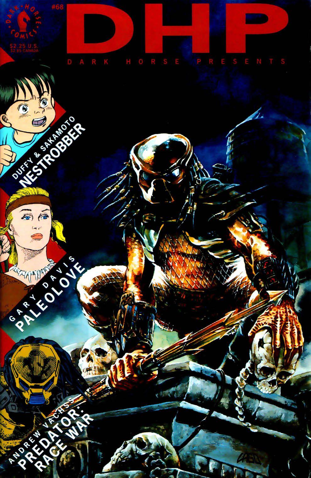 Dark Horse Presents vol 1 68 Cover art by Ray Lago