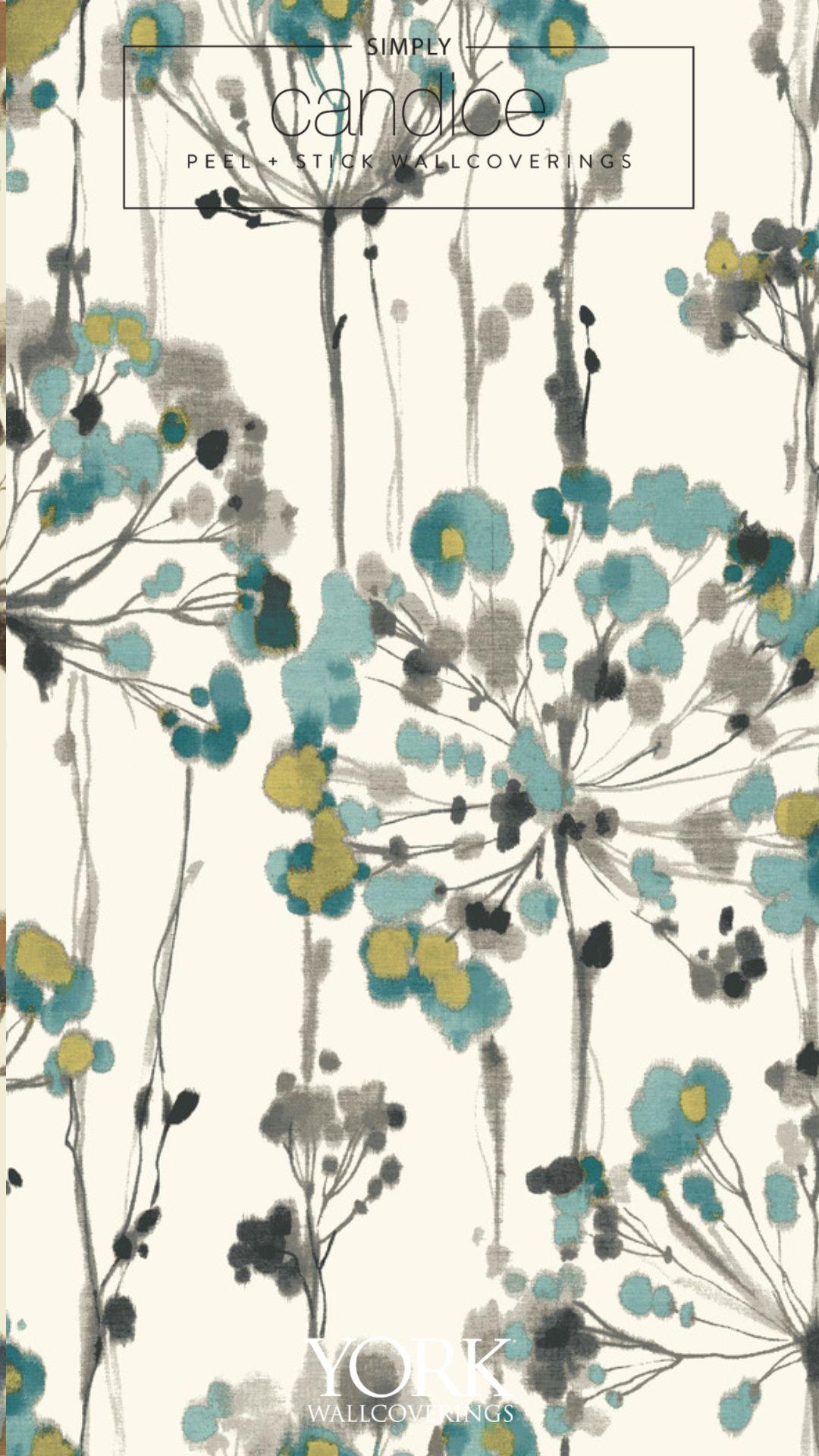 Flourish Premium Peel And Stick Wallpaper In 2021 Wallpaper Peel And Stick Wallpaper Art Wallpaper