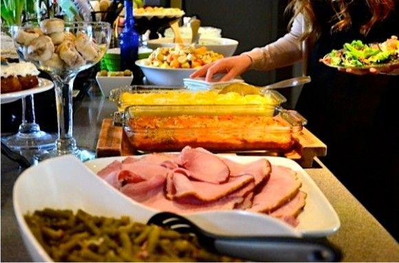 easter lunch buffet menu idea house designer today