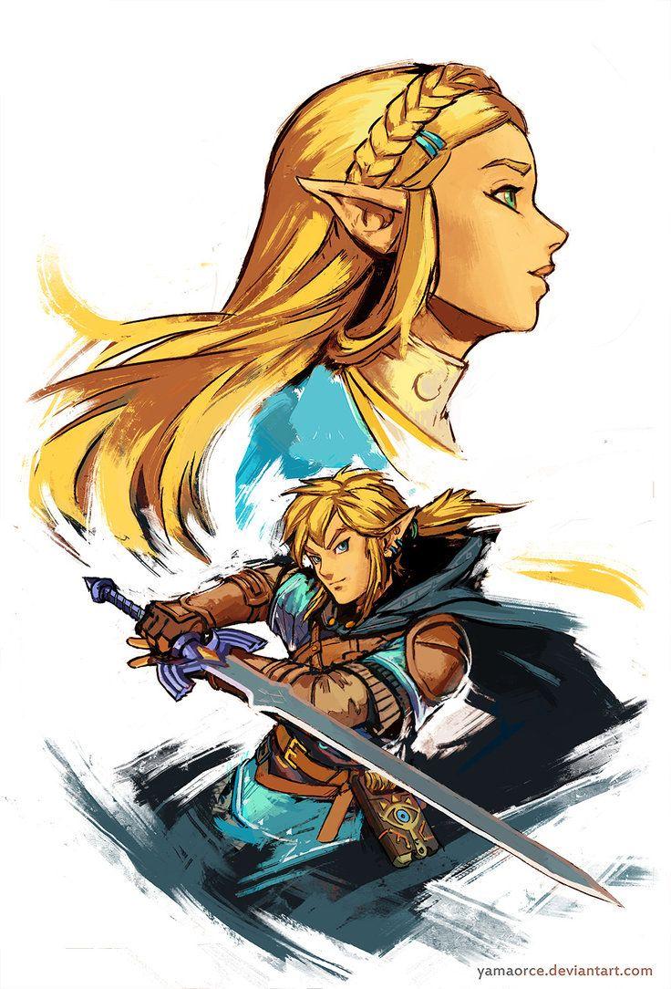 LoZ BotW by YamaOrce #Zelda #Nintendo #fanart