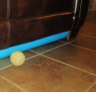 Pool Noodle Couch Bumpers Pool Noodle Ideas Life Hacks Pool Noodles Pool Noodle Crafts