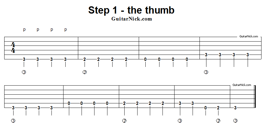 Learn Fingerstyle Guitar Technique In 8 Lessons