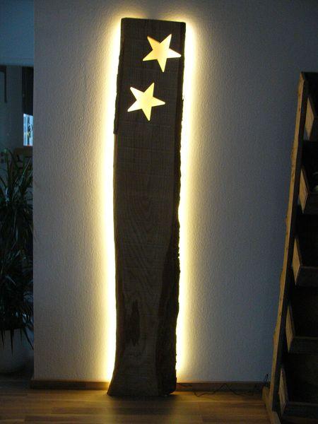 xxl wandleuchte sterne holz inkl led beleuchtung von peka ideen auf basteln. Black Bedroom Furniture Sets. Home Design Ideas