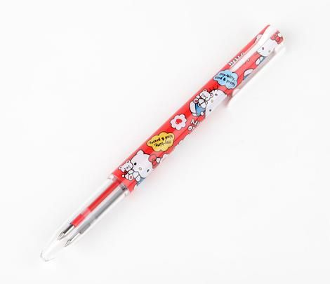 HK |❣| HELLO KITTY Cuddles 3-Color Ballpoint Pen