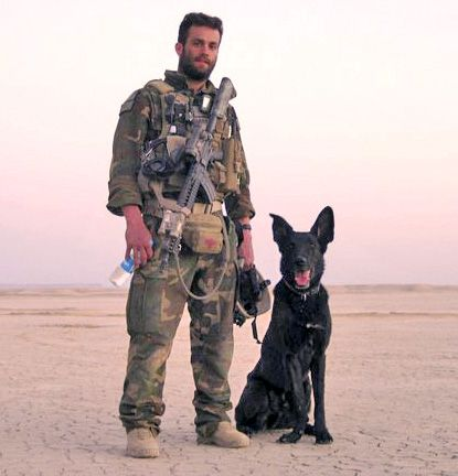 Picture Of Marine Recon Service Dogs