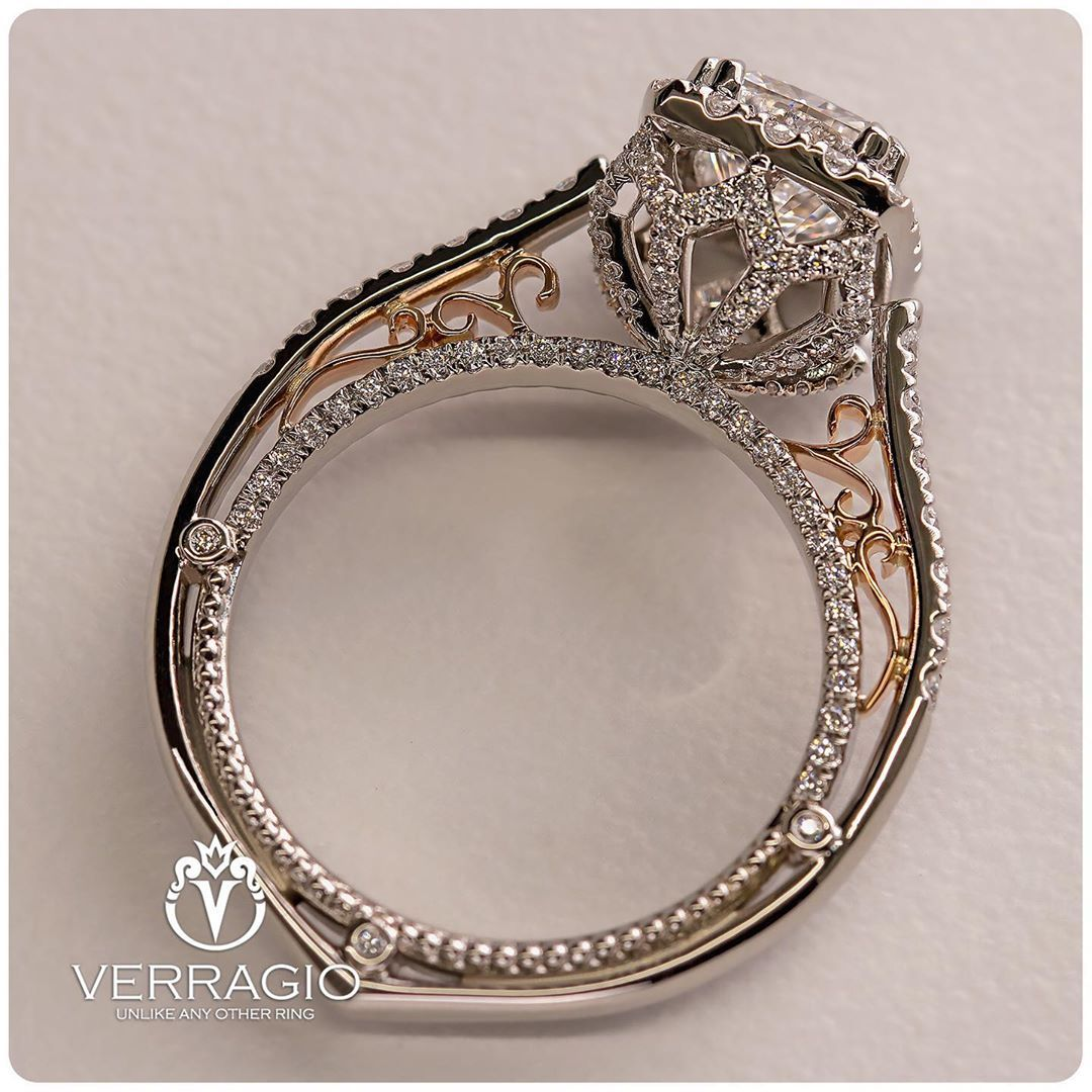 Verragio On Instagram Reimagine How Unique And Personalized Your Engagement Ring C Cute Engagement Rings Verragio Engagement Rings Beautiful Engagement Rings