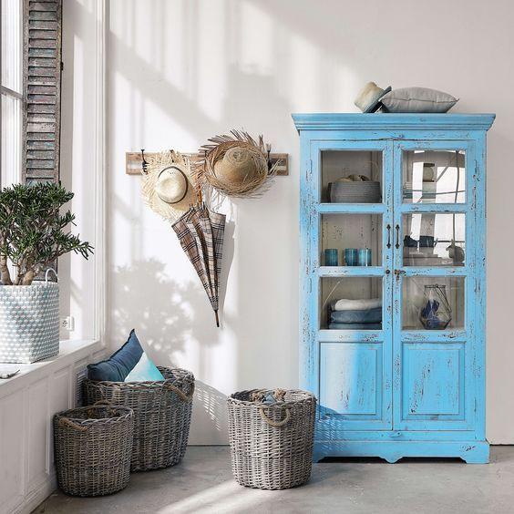 Color azzurro ideale per una casa provenzale