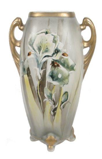 Art Nouveau Style Nippon Vase Art Lavaux S Fabulous Finds Vase Art Nouveau Vintage Vases
