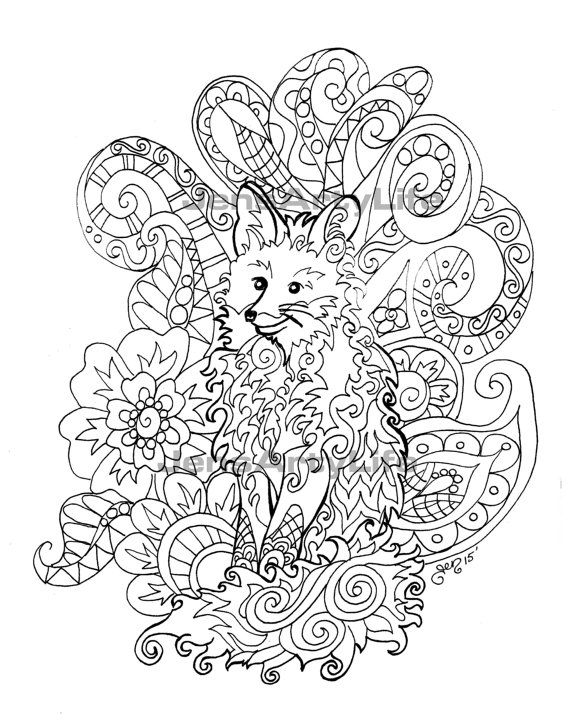 Cathym13 - Flowers Adult Coloring Pages | 721x570