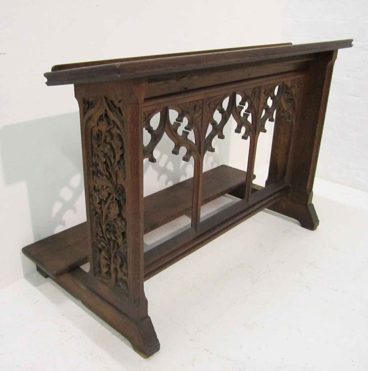 Antique Gothic Prie Dieu Bssd Prayer Room Pinterest  # Muebles Goticos