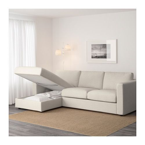 IKEA VIMLE 3 Seat Sofa The Cover Is Easy To Keep Clean Since It Is