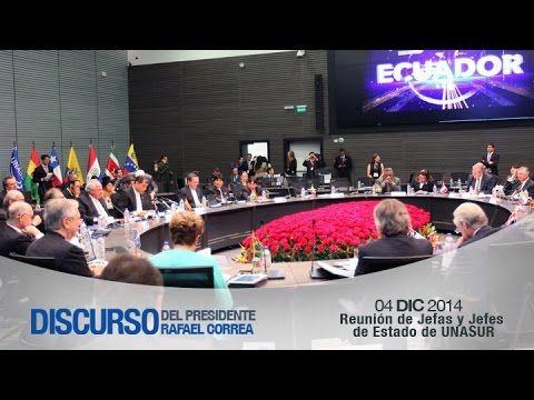 Reunión de Jefas y Jefes de Estado de UNASUR