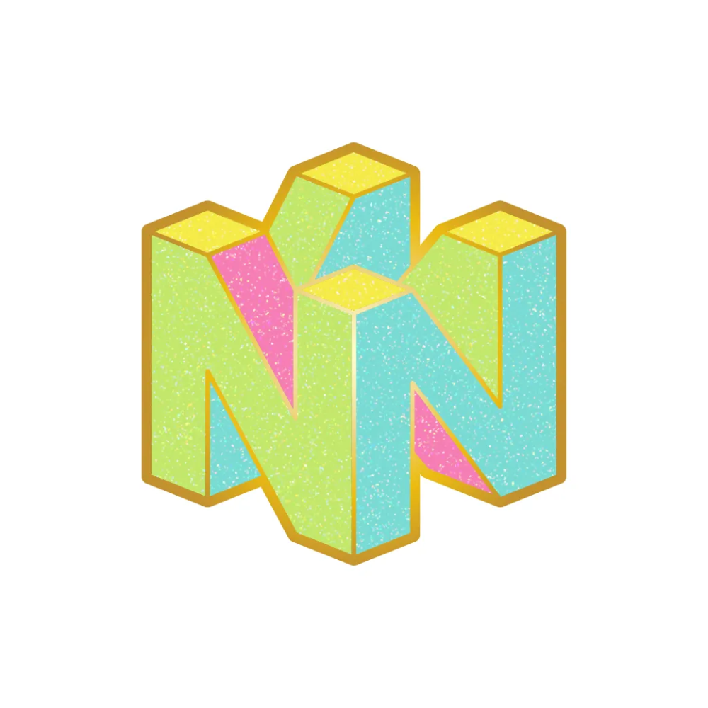Nintendo 64 Logo Hard Enamel Pin By Chocolana Love The Pastel Color Palette Of This Nostalgic Nintendo Pin Pastel Enamel Enamel Pins Pastel Colour Palette