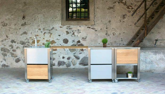 outdoor-küchen-jokodomus-serie-auxilium-küchenmodule-holz-edelstahl - küchen aus edelstahl