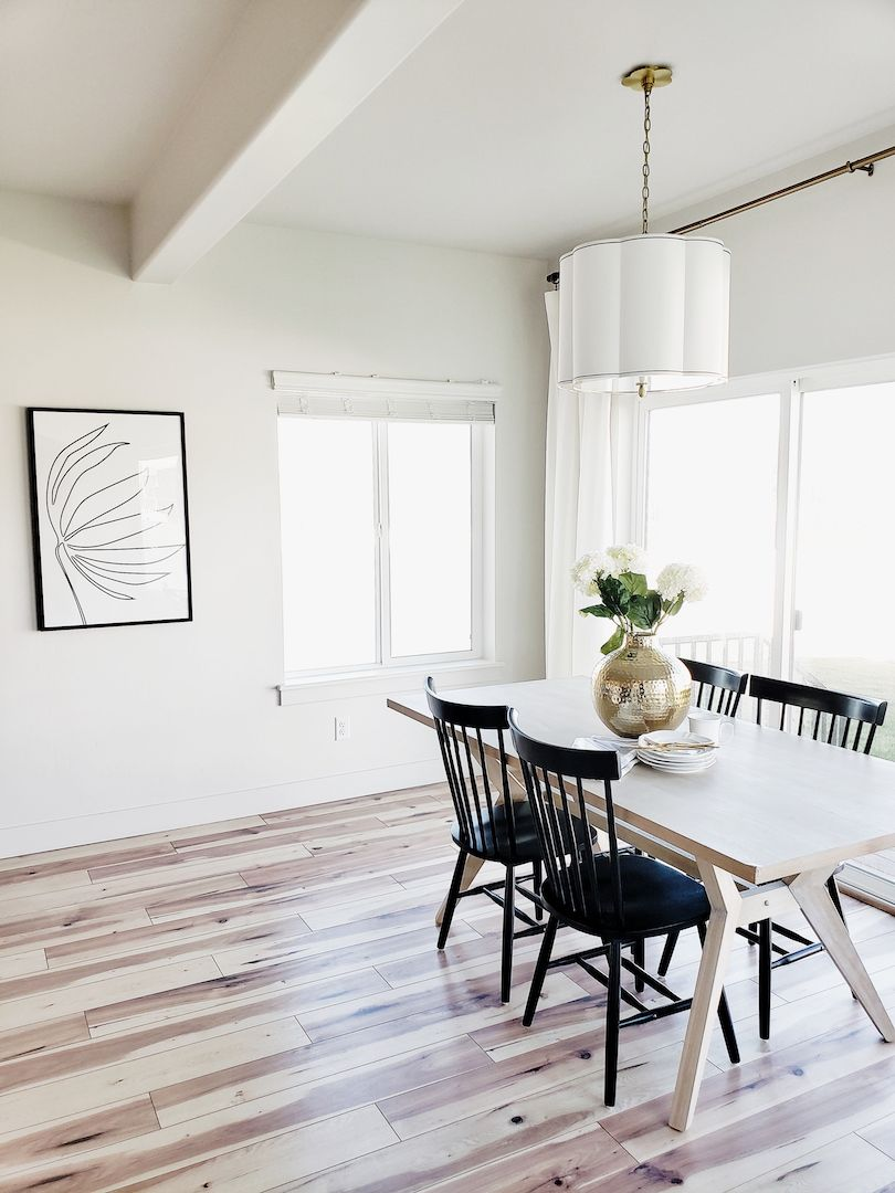 Hudson Valley Lighting White Lane Decor Farmhouse Dining Room Dining Table Chairs Dining Room Small