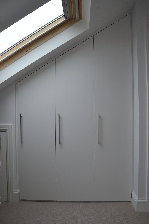 Loft bedroom wardrobe ideas  Bespoke fitted loft wardrobes in Fulham South West London SW