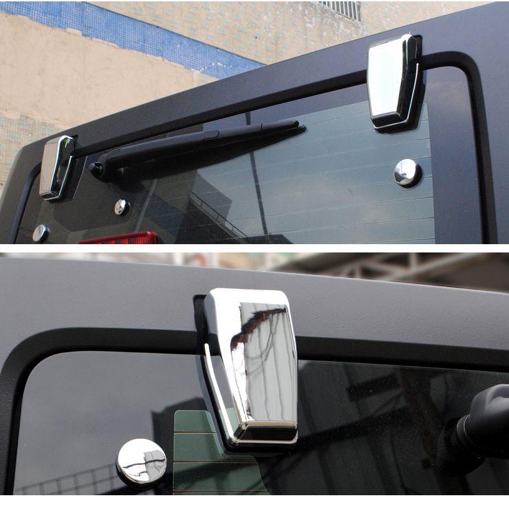 Mad Hornets Upper Rear Door Window Hinge Cover Trims For Jeep Wrangler Jk 2007 2017 Chrome 21 99 Http W Custom Jeep Wrangler Jeep Wrangler Custom Jeep