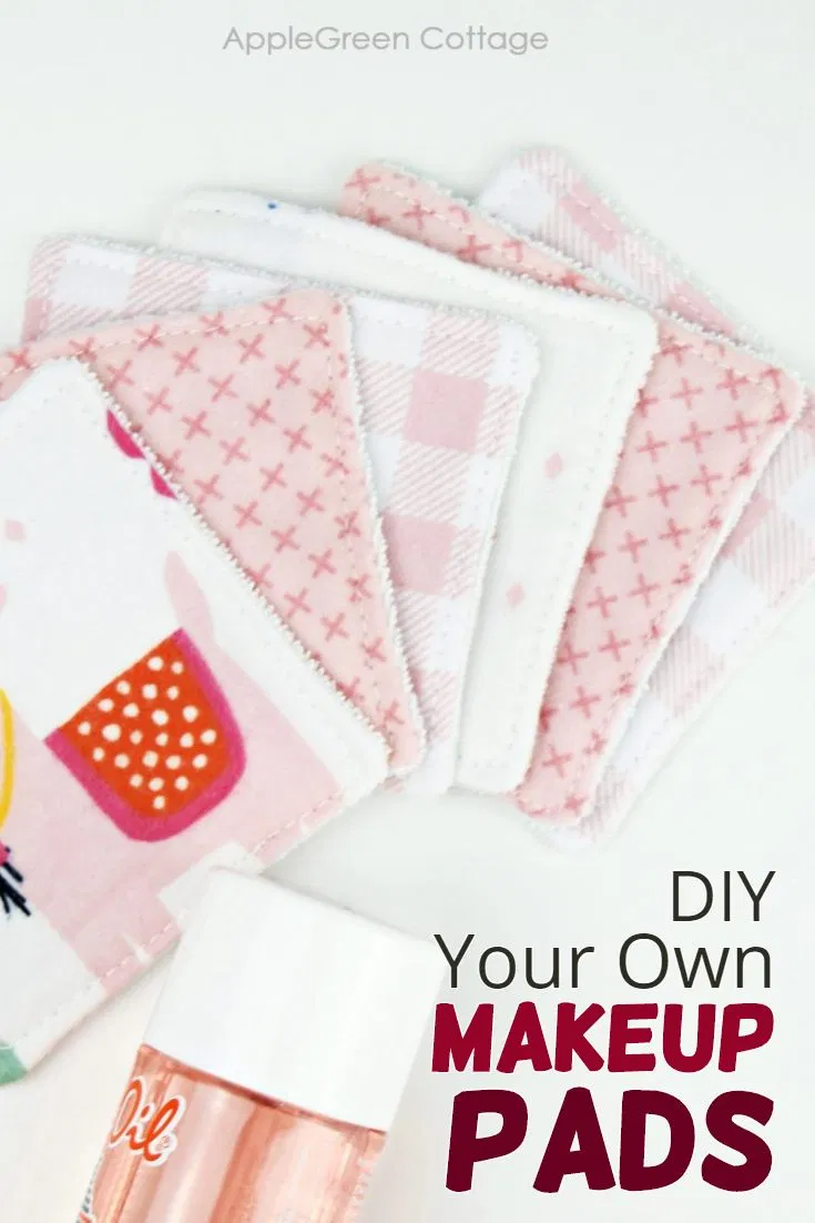 Easy Diy Makeup Remover Wipes You Can Sew Now