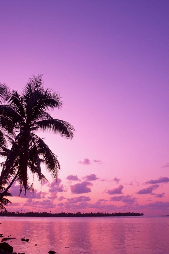 Pink Iphone Wallpaper 640x960 Pink Sunset Iphone 4 Wallpaper Beautiful Scenery Wallpaper Scenery Wallpaper Sunset Wallpaper